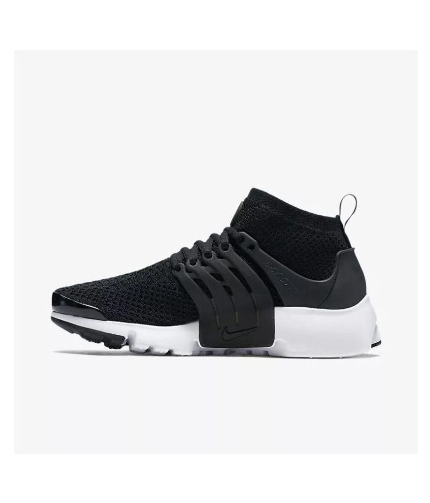 check out 5214c f406b Nike Air Presto Ultra Flyknit Black Running Shoes ...