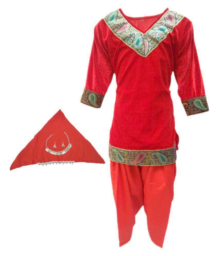 b847b6af4 Kaku fancy dresses Kashmiri Girl fancy dress for kids,Indian State  Traditional Wear Costume for ...