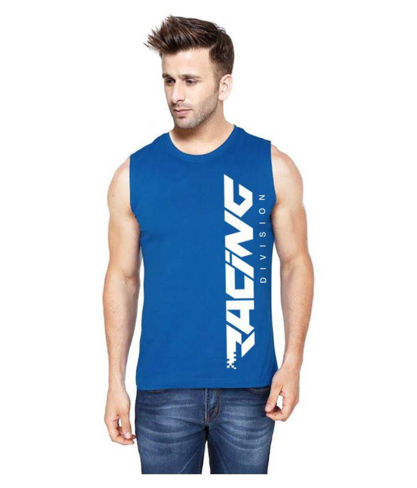 Hotfits Blue Round T-Shirt