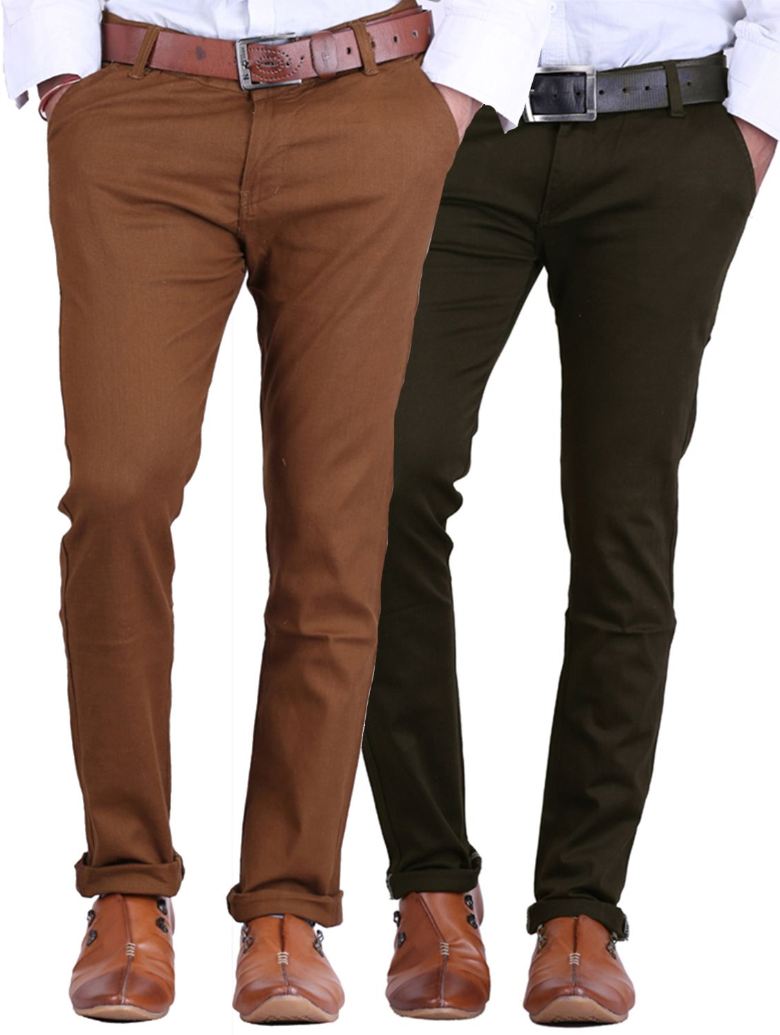 Van Galis Multi Regular -Fit Flat Trousers