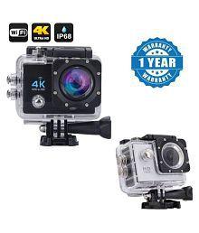 Blue Arrows Waterproof Sports Action Camera - 4K Ultra HD 1920 x 1080 (Full HD): 30p / 25p / 24p) MP Video Camera