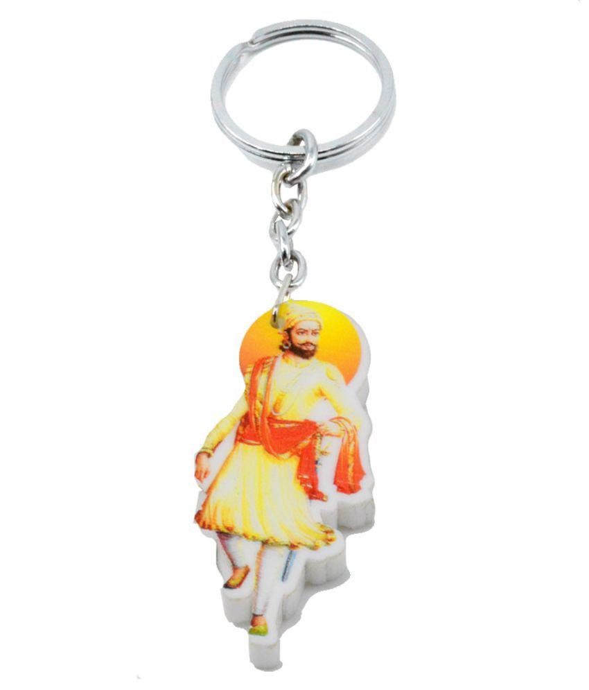 Faynci Jay Bhavani Jay Shivaji Key Chain