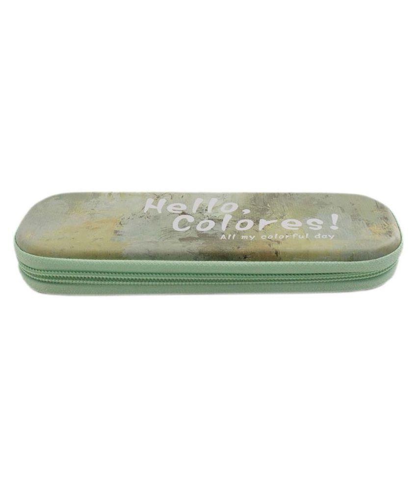 Hello Colores Tin Pen Pencil Box