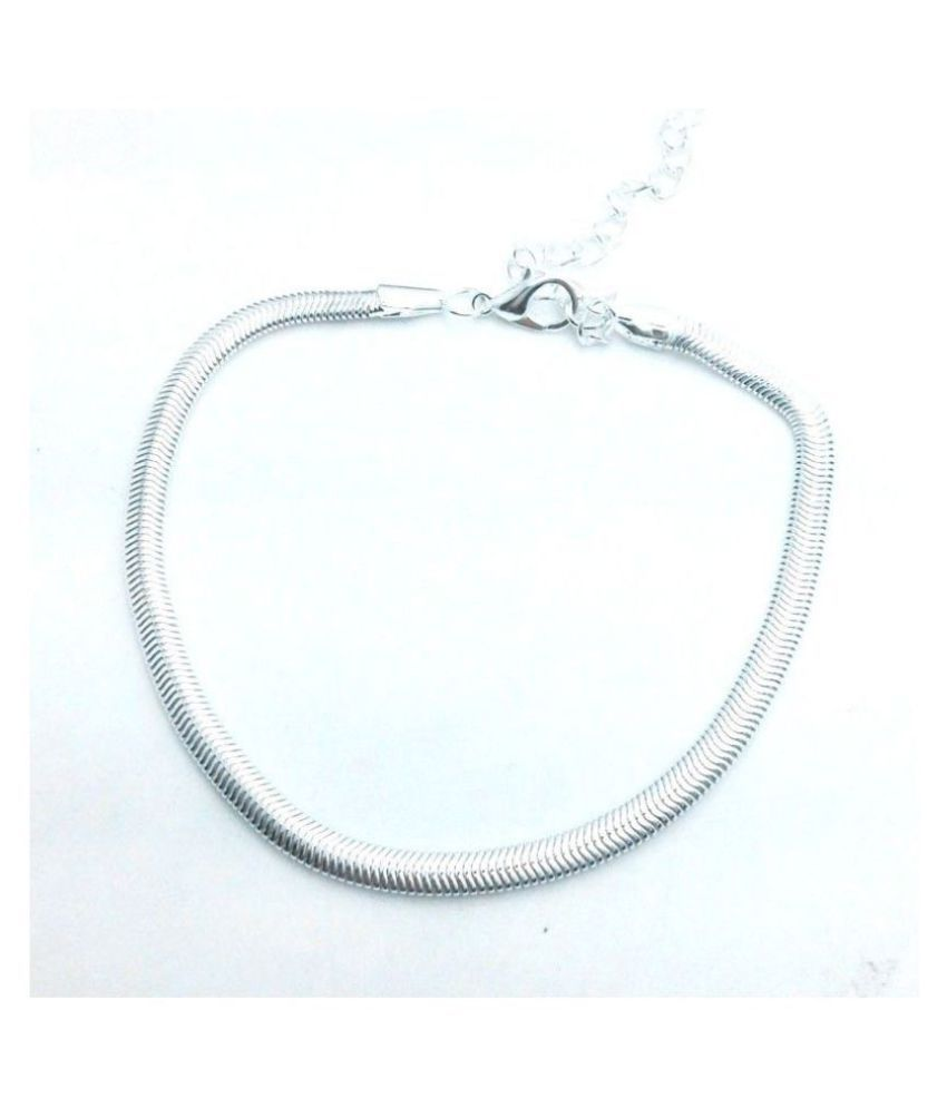Retro Silver Chain Anklets Foot Chain Women Fashion Jewellery Without Box