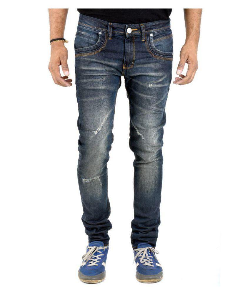 INDIGEN Dark Blue Skinny Jeans