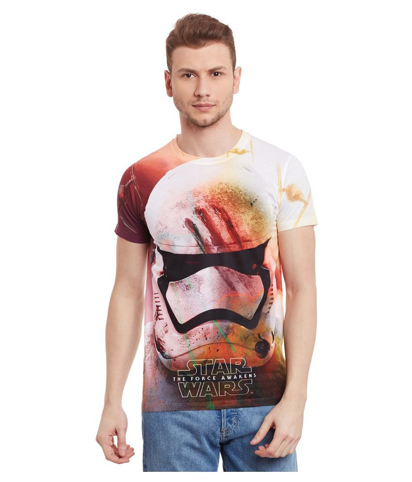 Star Wars Multi Round T-Shirt Pack of 1