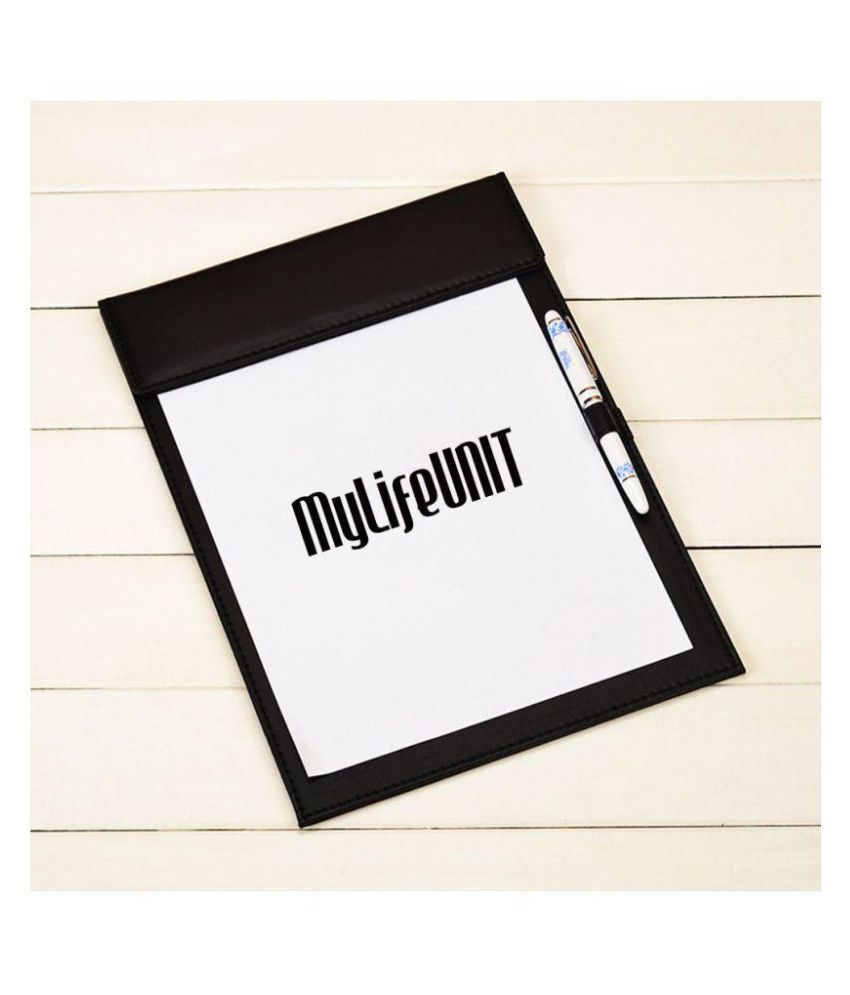 Business Letter Size Leather clipboard Office