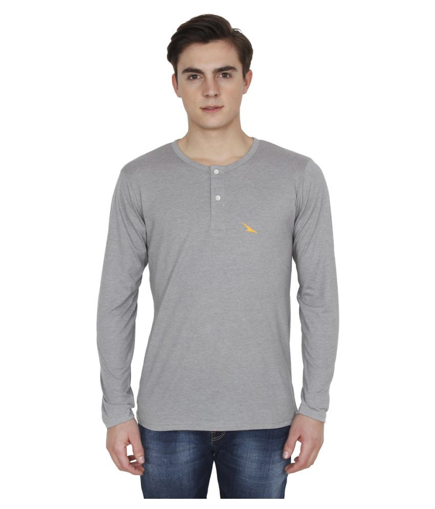 PRO Lapes Grey Henley T-Shirt