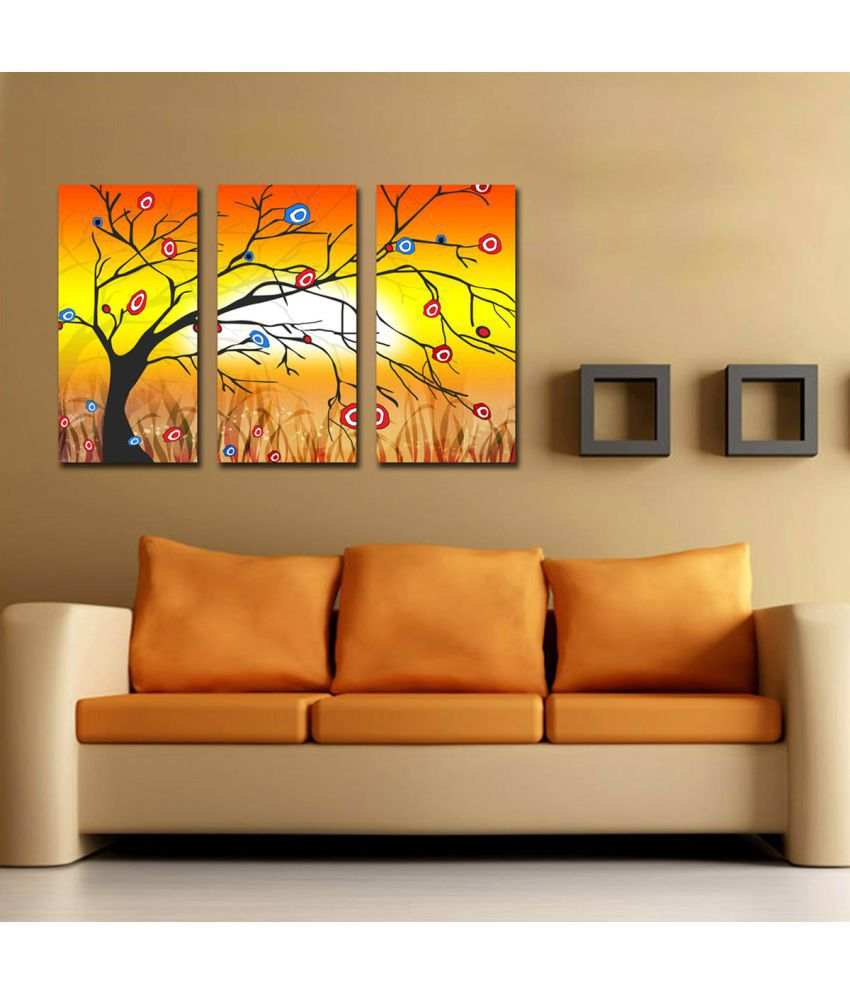 IMAGINATIONS Canvas Painting Without Frame