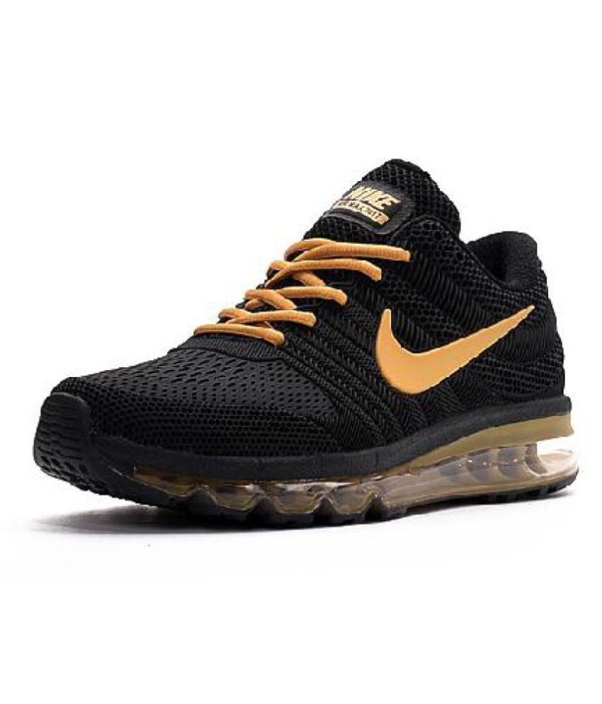 Nike Air Max 2017 Rubber Premium Sp Gold Running Shoes Buy Nike