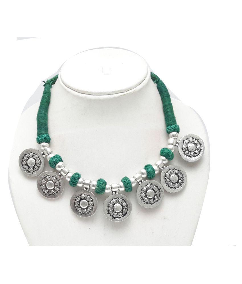 Nareiki Antique Oxidized Fashion Necklace Jewellery