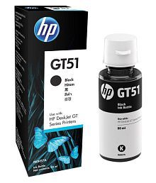 HK HP GT51 Black Ink Single