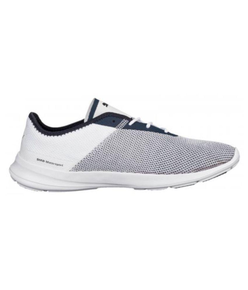 Puma Men BMW MS Runner White Running Shoes - Buy Puma Men BMW MS ... 9f6794578