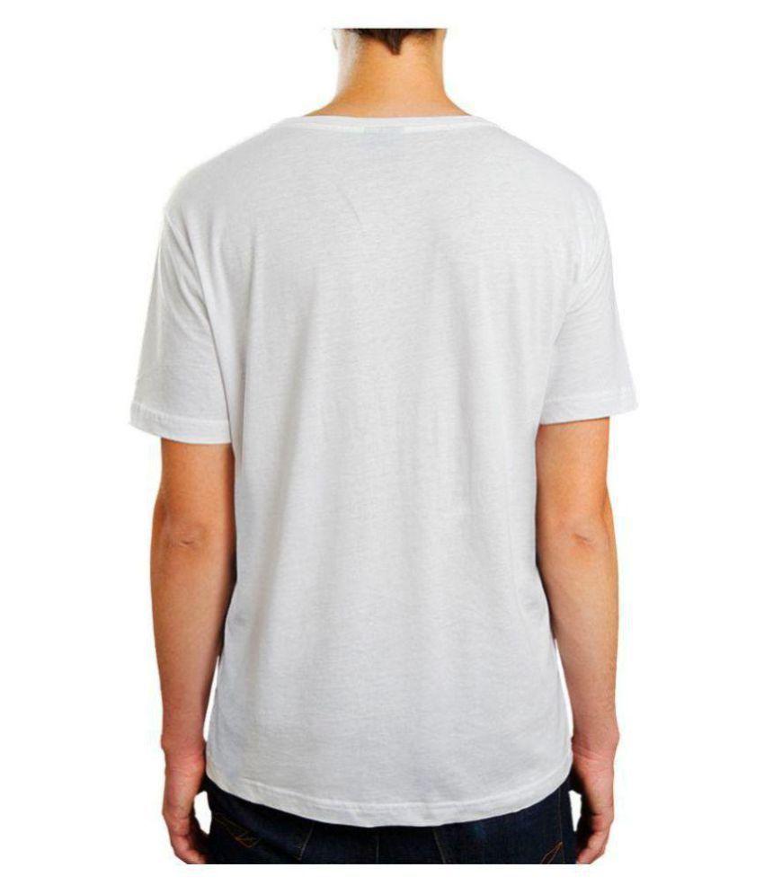 Being Hatke White Round T-Shirt Pack of 1