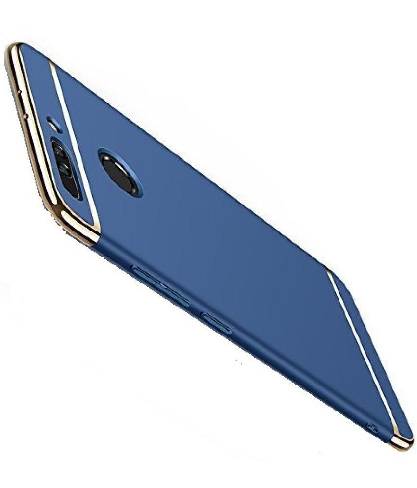 size 40 75bb2 b47a1 Huawei Honor 8 Pro Plain Cases 2Bro - Blue - Plain Back Covers ...