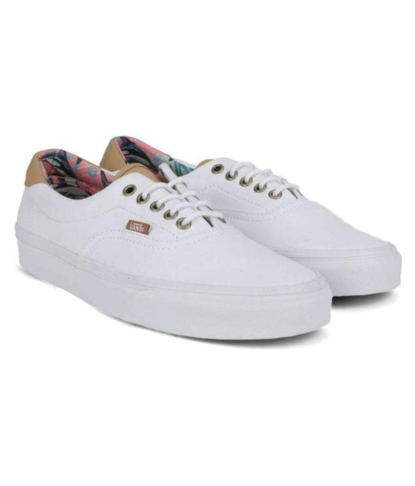 d3093eaaf154a6 VANS Men ERA 59 Sneakers White Casual Shoes - Buy VANS Men ERA 59 Sneakers  White Casual Shoes Online at Best Prices in India on Snapdeal