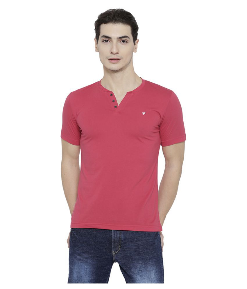 Neva Pink V-Neck T-Shirt