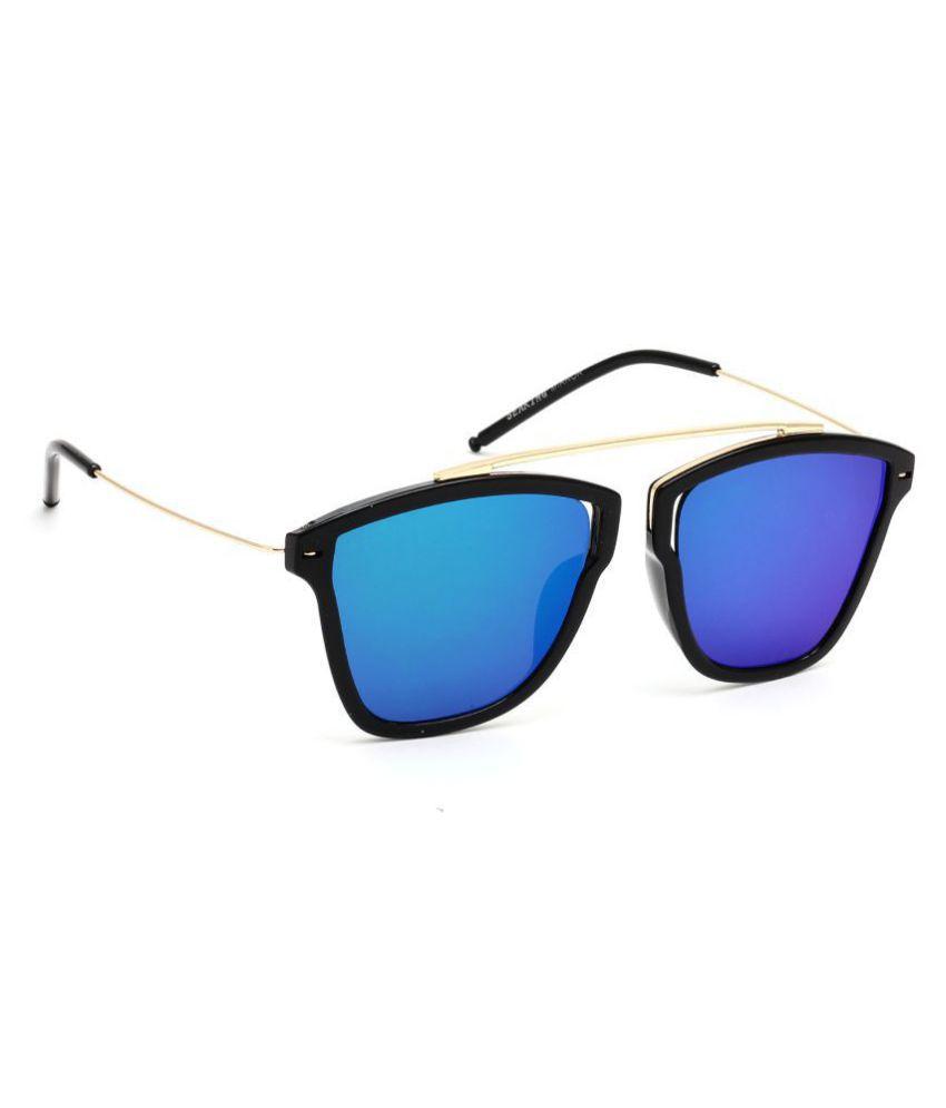 Eyeland Ocean Blue Square Sunglasses ( EYE1336 )