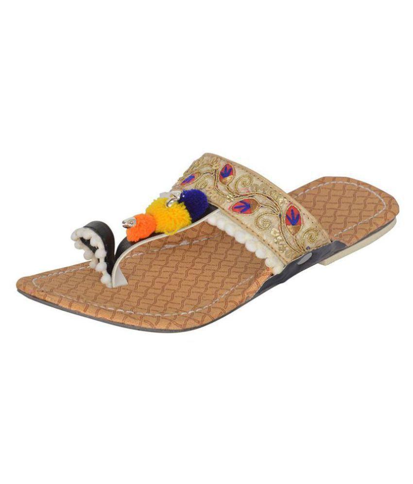 ROYAAL Multi Color Ethnic Footwear