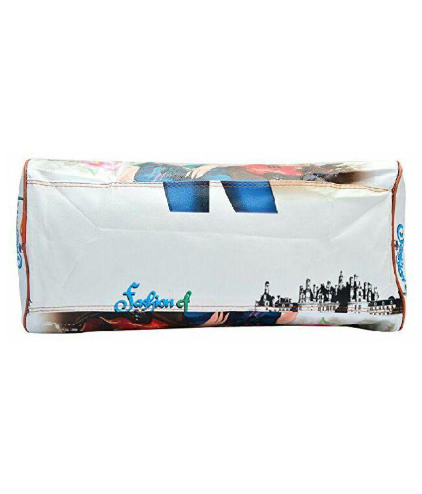 3a32fb495b51 Geetu Ladies Bag Light Blue Faux Leather Shoulder Bag - Buy Geetu ...