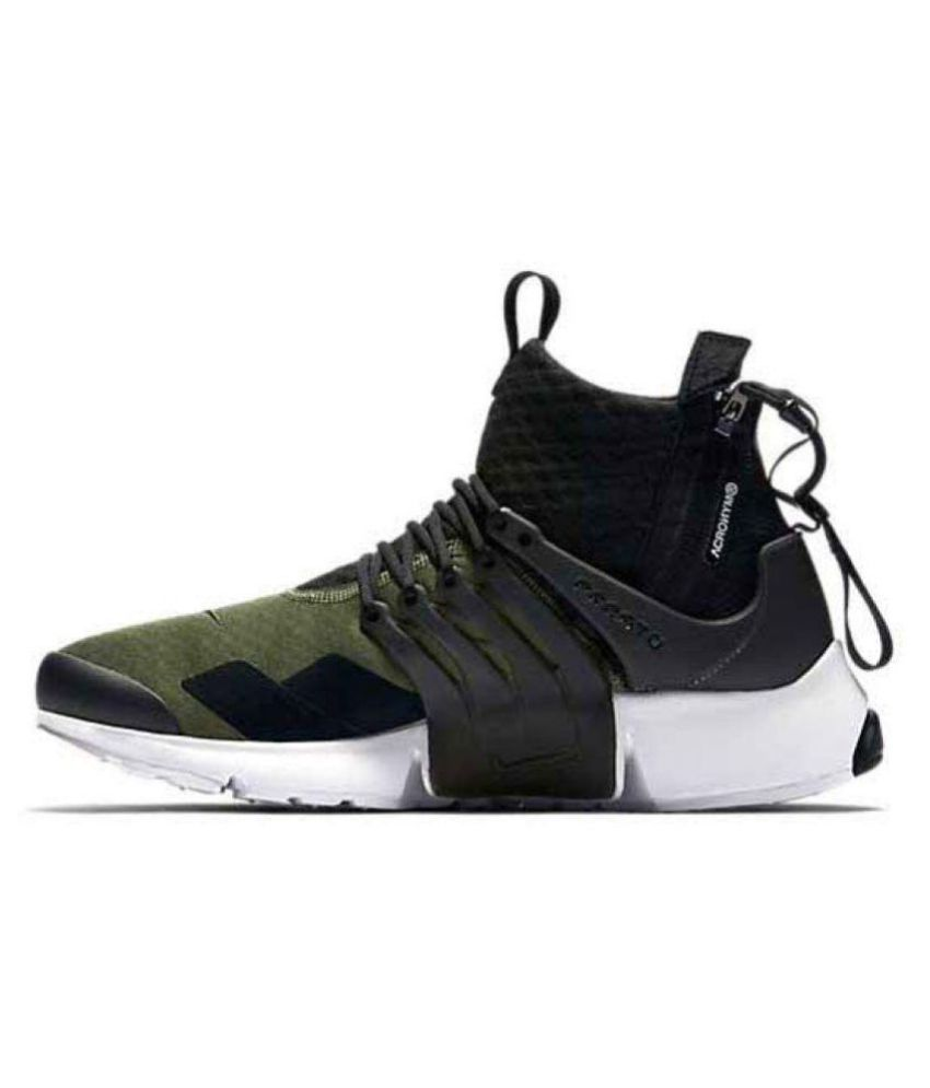 competitive price 3576c 1f068 Nike AIr presto Acronym Green Running Shoes - Buy Nike AIr presto Acronym  Green Running Shoes Online at Best Prices in India on Snapdeal