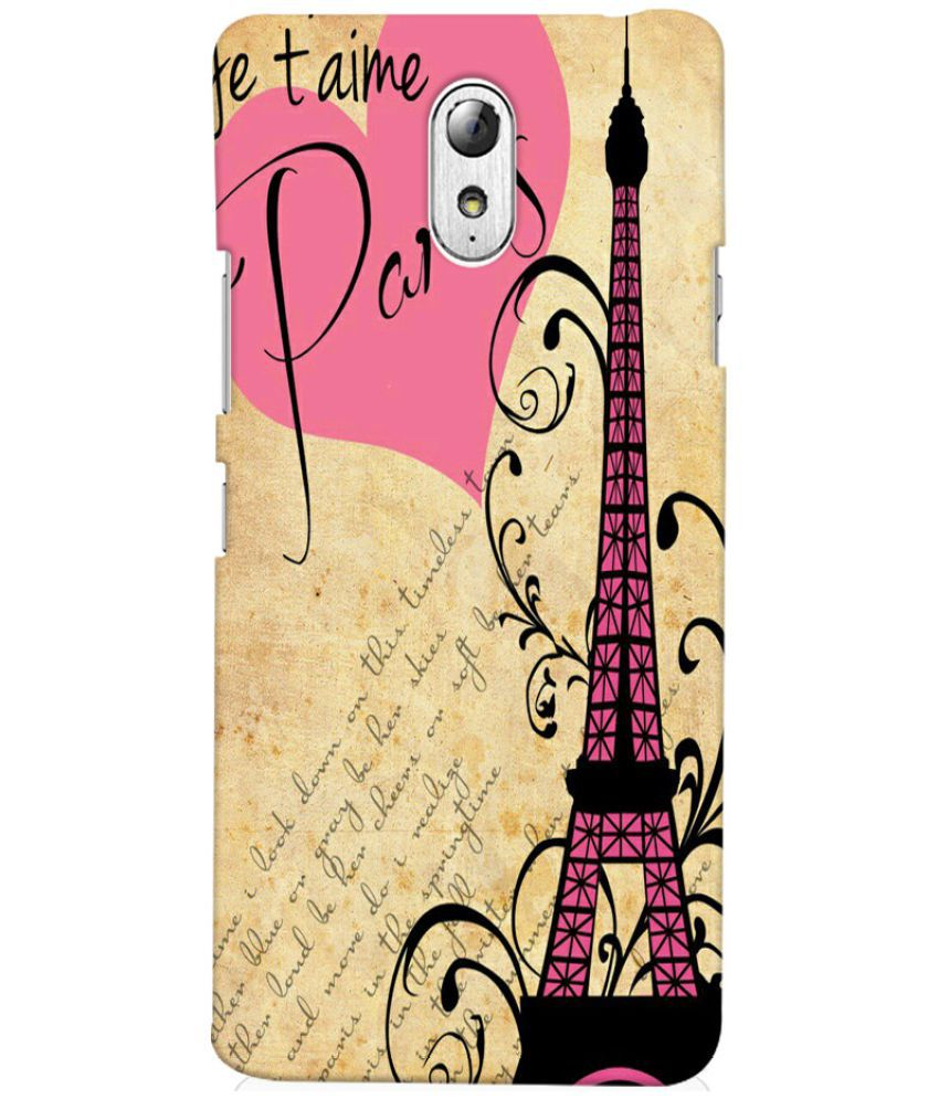 Lenovo Vibe P1M Printed Cover By Case King