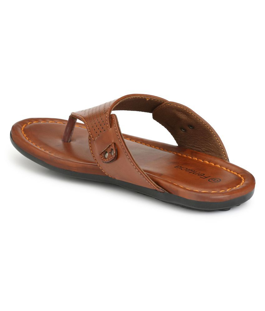 Fentacia Casual Tan Daily Slippers official cheap online with paypal for sale buy cheap choice FNsb8bw