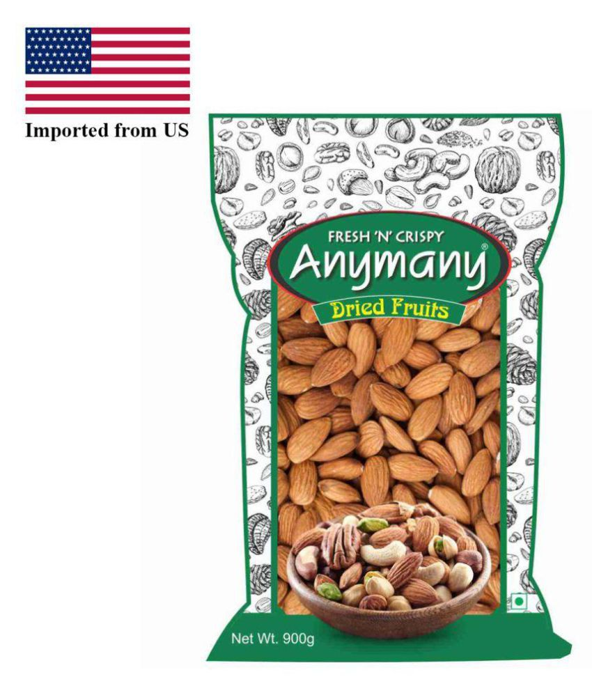 Anymany California Regular Almond (Badam) 900 gm