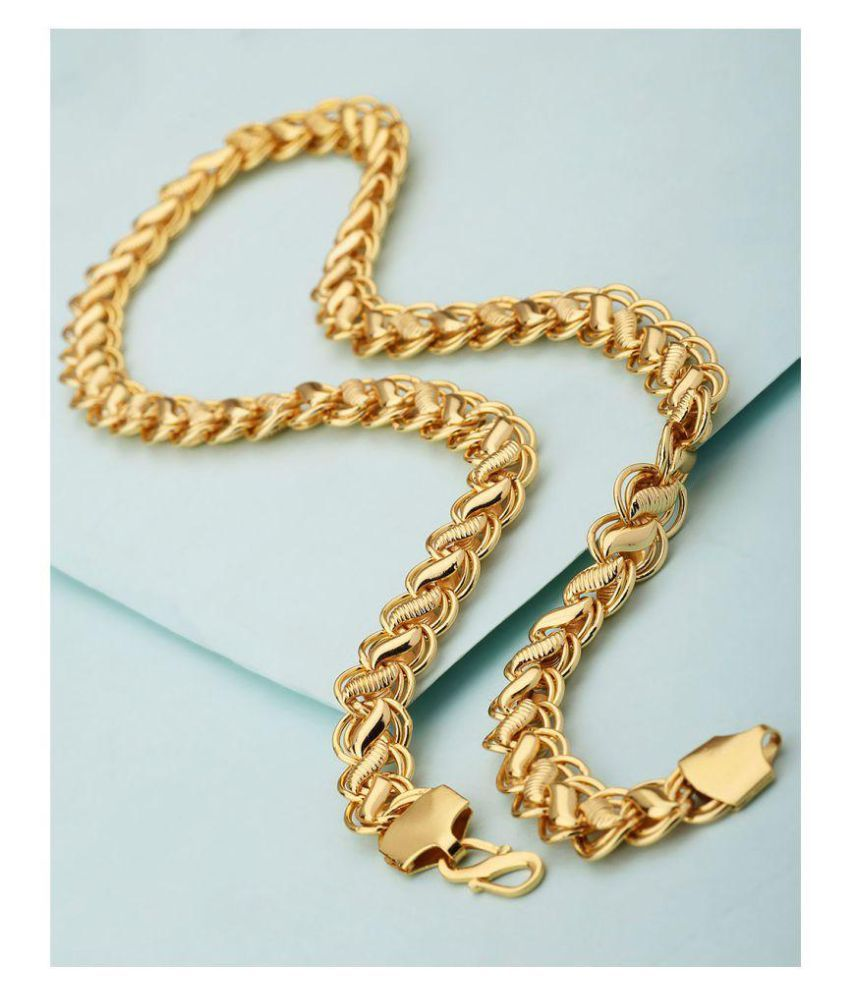Dare Chain In Gold Plating For Men Buy Online At Low