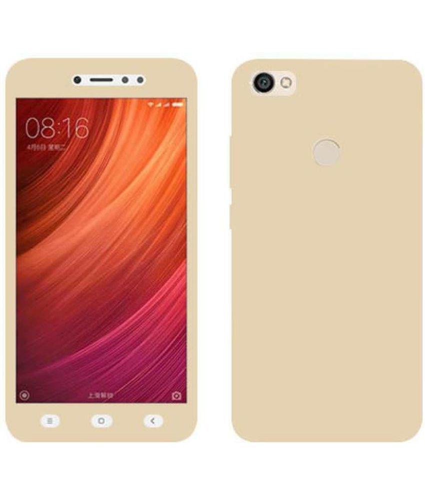 Xiaomi Redmi Y1 Plain Cases Kosher Traders - Golden