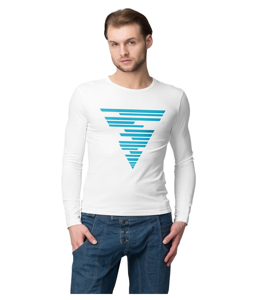 American-Elm White Round T-Shirt Pack of 1