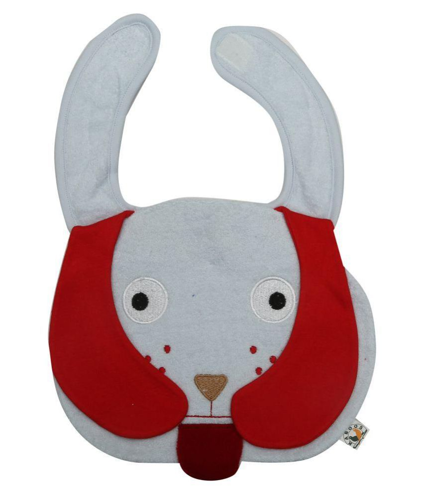 KABOOS Multi-Colour Terry Bibs - Set of 1