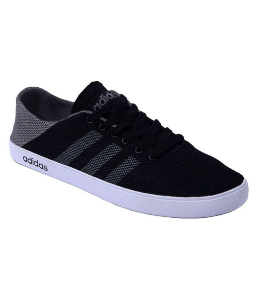 bf835064b0ed Adidas Neo Sneakers Black Casual Shoes - Buy Adidas Neo Sneakers Black  Casual Shoes Online at Best Prices in India on Snapdeal