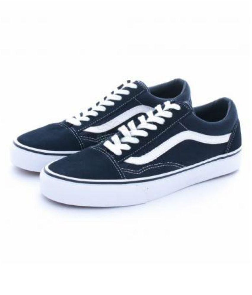 outfits with blue old skool vans
