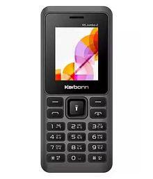 Karbonn Black Red K5 Jumbo 2 32 MB