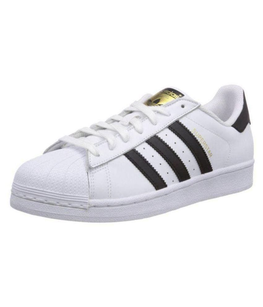 Adidas Superstar White Lifestyle White Casual Shoes Adidas Superstar White  Lifestyle White Casual Shoes ... 720af3438