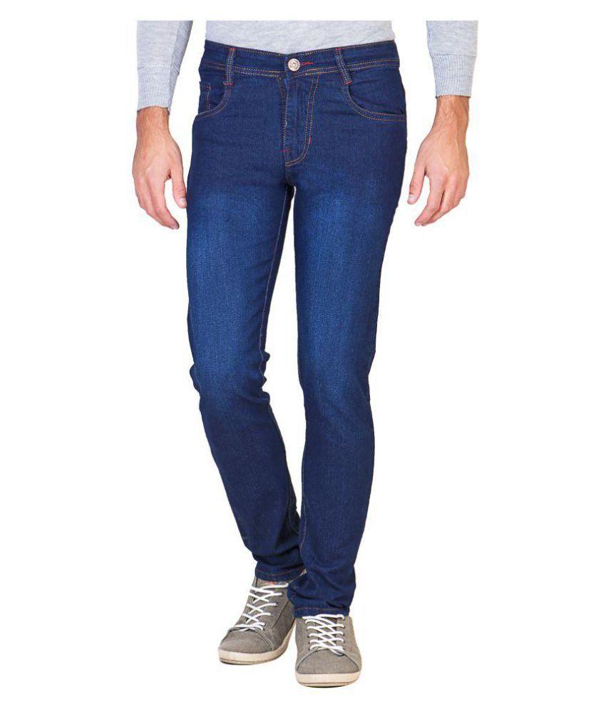 Galatea Blue Straight Jeans
