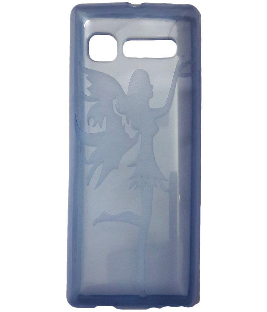new style 9826e da221 LYF Jio Phone F101K Plain Cases ibnelite - Transparent