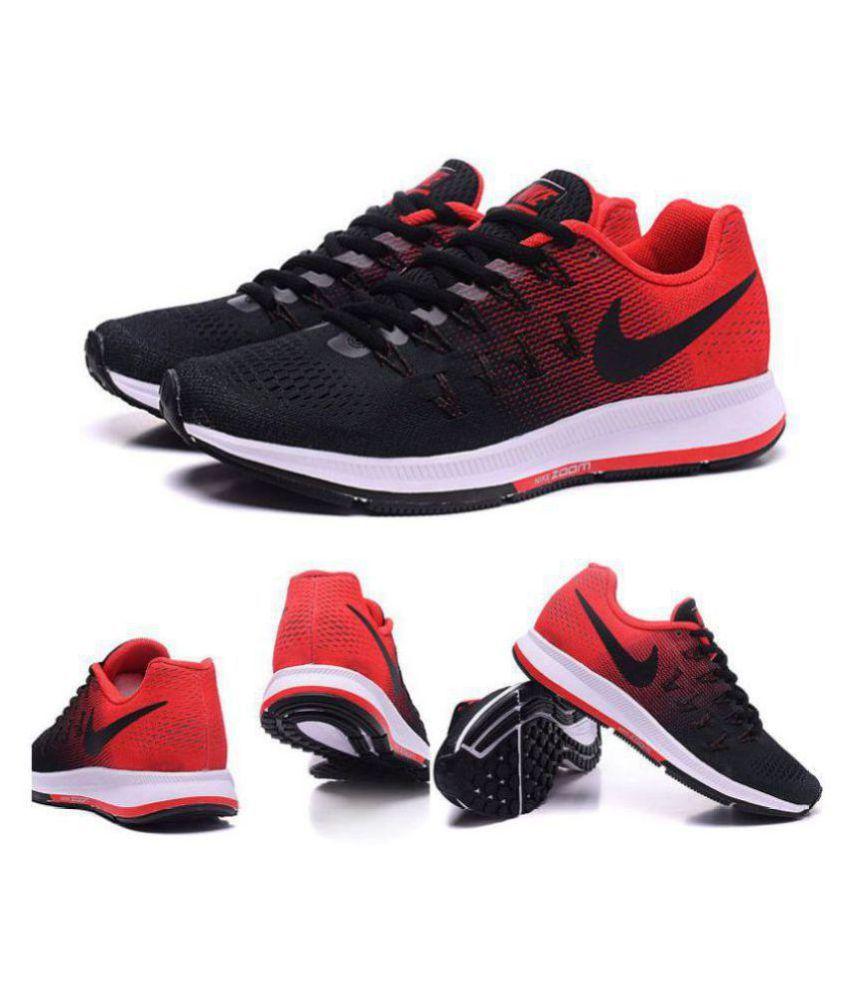 Nike Pegasus 33 Black Running Shoes