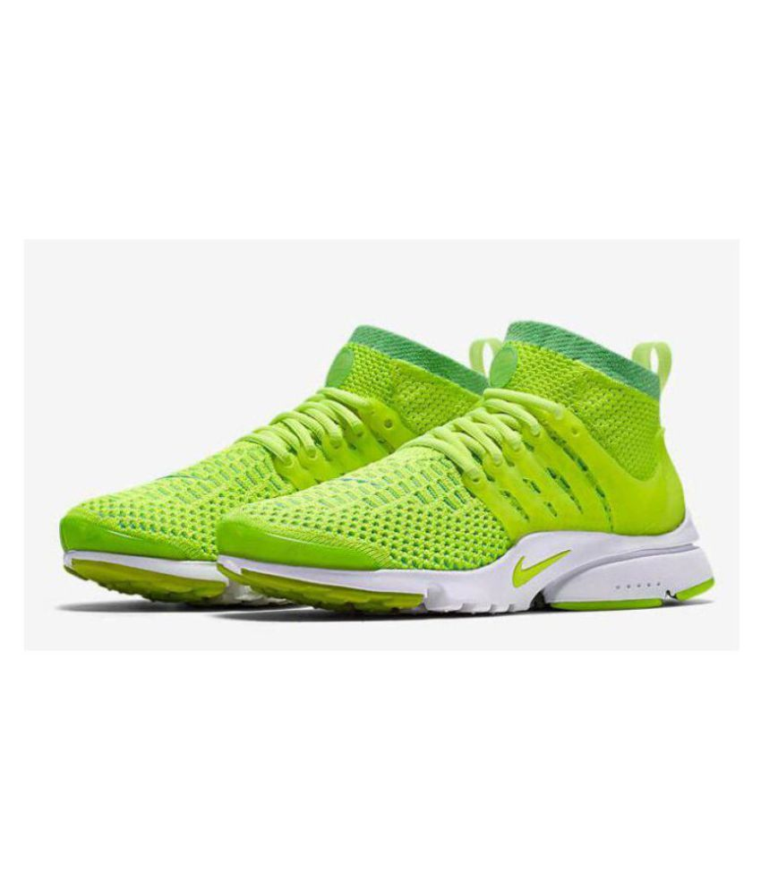 sports shoes 9cff6 0c193 cheap nike air presto ultra flyknit green running shoes c913f cffec