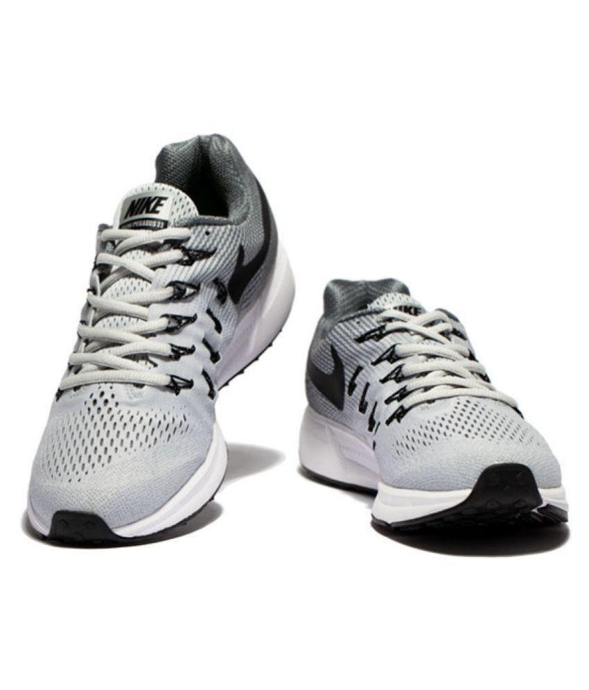 7fa509051271 spain nike zoom pegasus 33 gray running shoes ef060 49683