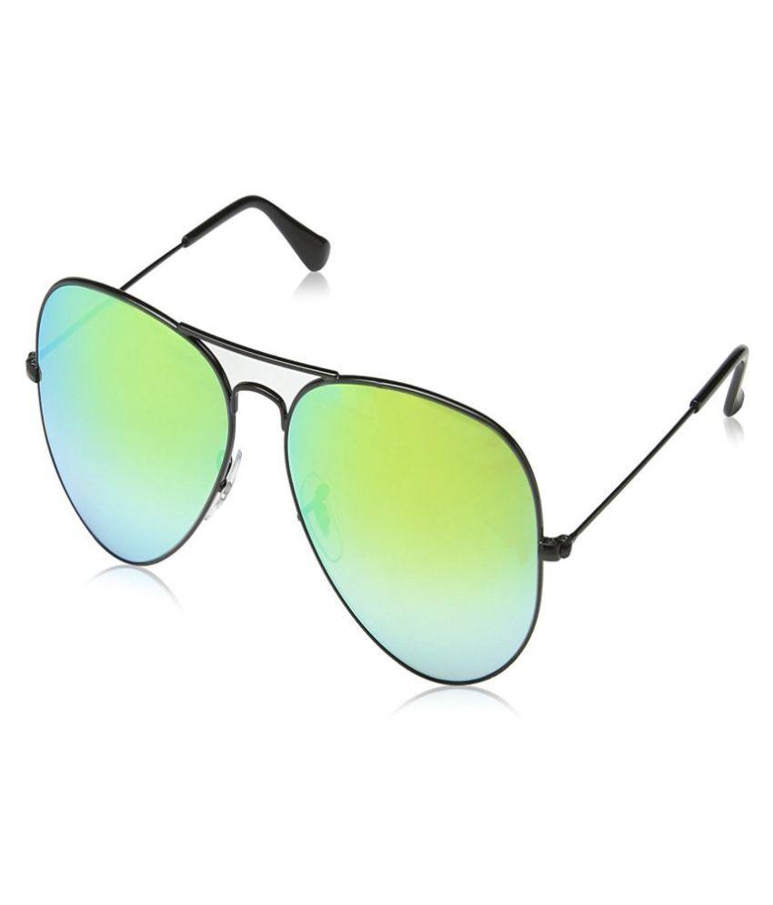 Oximus Multicolor Aviator Sunglasses ( O-SPECS-01 )