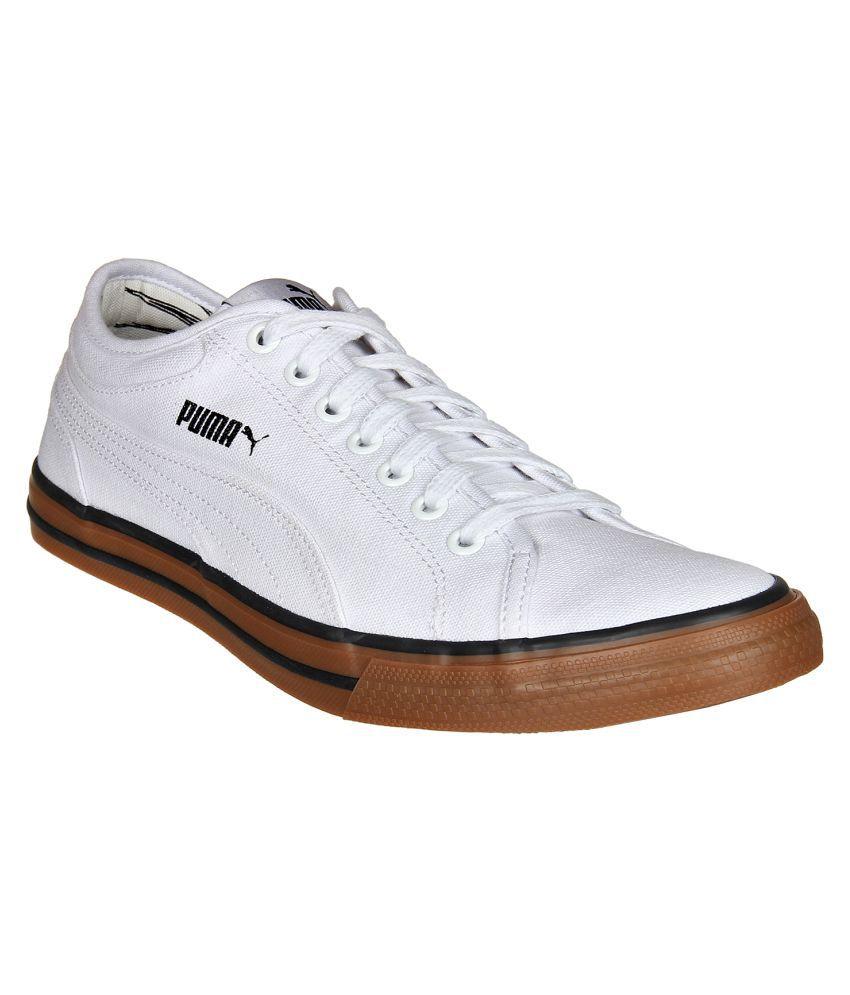 puma sneakers white casual shoes buy puma sneakers white