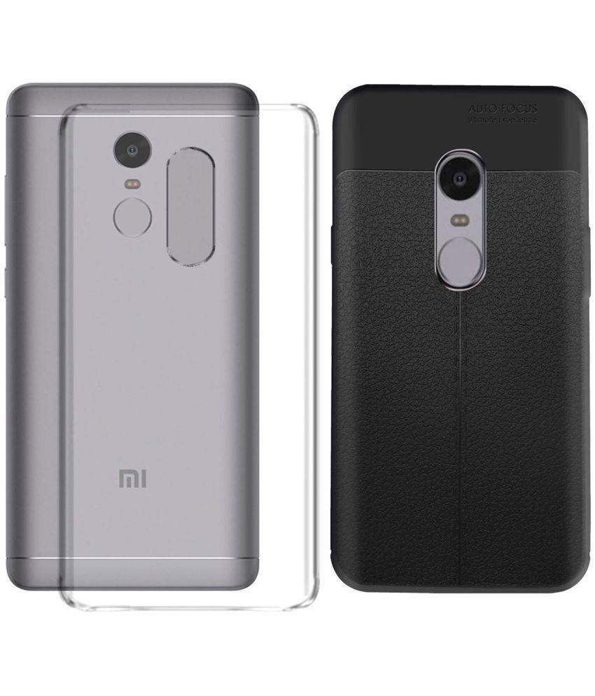 Xiaomi Redmi Note 4 Plain Cases Mobik - Transparent