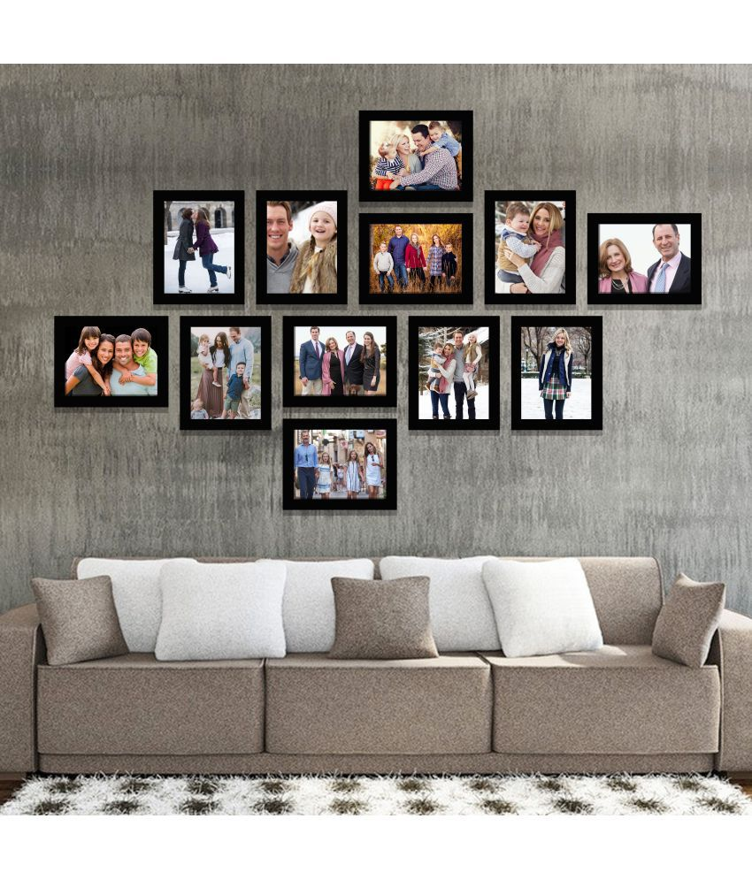 IMAGINATIONS Resin Black Collage Photo Frame - Pack of 1