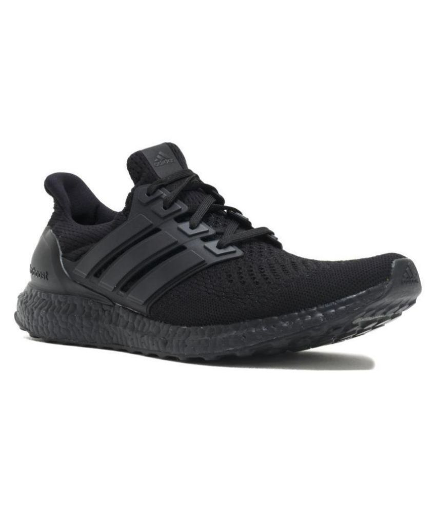 17851dd1dbc Adidas Ultra boost Black Running Shoes - Buy Adidas Ultra boost Black Running  Shoes Online at Best Prices in India on Snapdeal