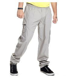 Jtinternational Grey Cotton Trackpants Single