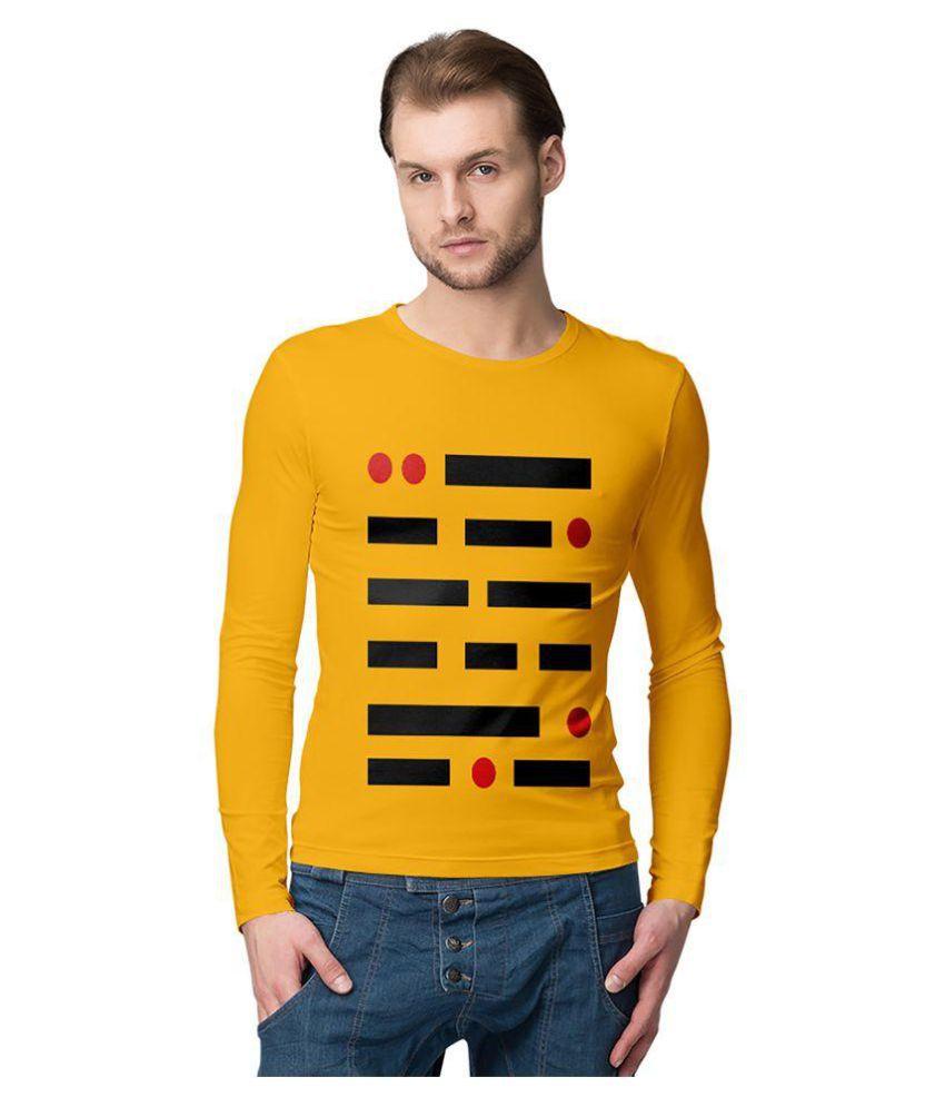American-Elm Yellow Round T-Shirt Pack of 1