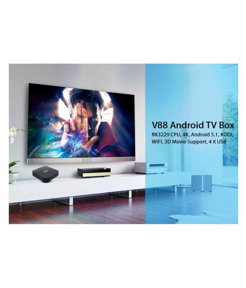 Buy Colour Wise SCISHION V88 4K KODI SMART TV ANDROID BOX Receiver