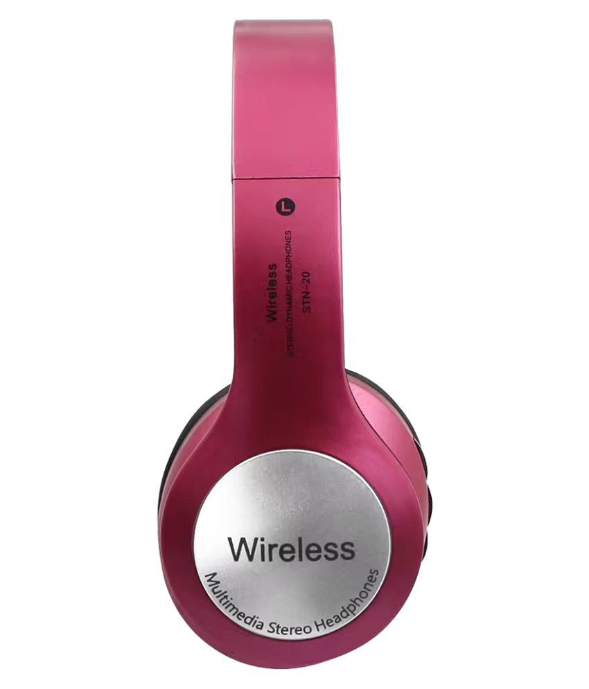 JOKIN Oppo N1 mini   compatible Wireless Bluetooth Headphone Pink